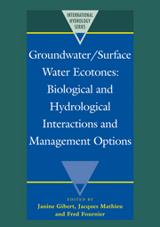 Groundwater/Surface Water Ecotones