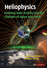 Heliophysics: Evolving Solar Activity and the Climates of Space and Earth