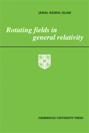 Rotating Fields in General Relativity