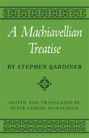 A Machiavellian Treatise