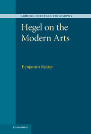 Hegel on the Modern Arts
