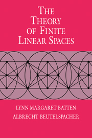 The Theory of Finite Linear Spaces