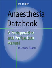 Anaesthesia Databook