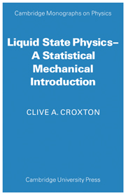 Liquid State Physics