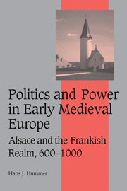 Politics and Power in Early Medieval Europe