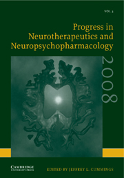 Progress in Neurotherapeutics and Neuropsychopharmacology
