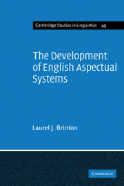 The Development of English Aspectual Systems
