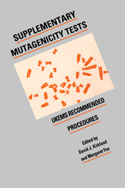 Supplementary Mutagenicity Tests