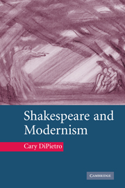 Shakespeare and Modernism