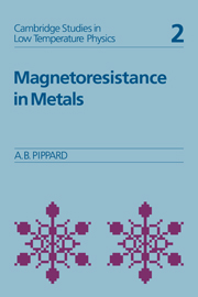 Magnetoresistance in Metals