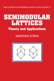 Semimodular Lattices