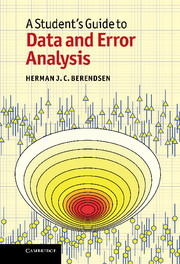 A Student's Guide to Data and Error Analysis