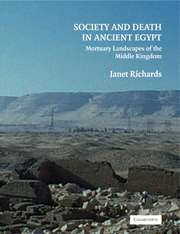 Society and Death in Ancient Egypt
