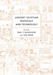 Ancient Egyptian Materials and Technology