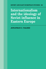Internationalism and the Ideology of Soviet Influence in Eastern Europe
