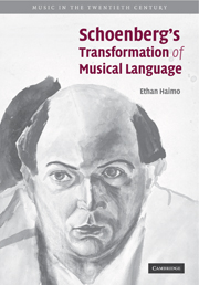 Schoenberg's Transformation of Musical Language