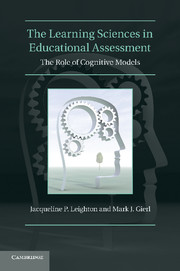 The Learning Sciences in Educational Assessment
