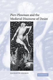 'Piers Plowman' and the Medieval Discourse of Desire