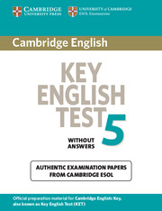 Key | Cambridge University Press