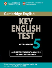 Cambridge Key English Test 5