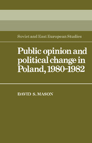 Public Opinion and Political Change in Poland, 1980–1982