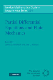 Partial Differential Equations and Fluid Mechanics