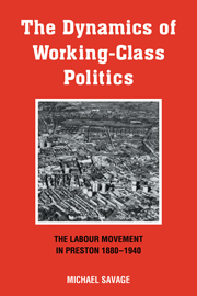 The Dynamics of Working-class Politics