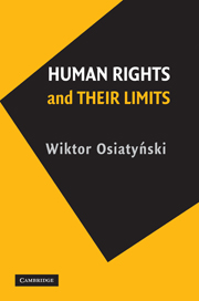 Human Rights and their Limits