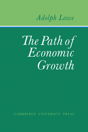The Path of Economic Growth