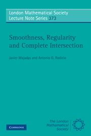 Smoothness, Regularity and Complete Intersection