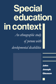 Special Education in Context