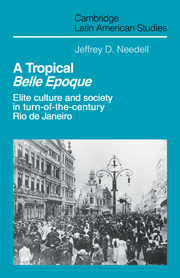 A Tropical Belle Epoque