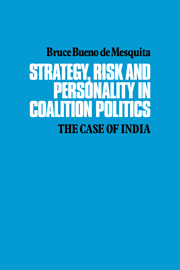 Strategy, Risk and Personality in Coalition Politics