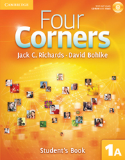 Four Corners 1A Student's Book A with Self-study CD-ROM