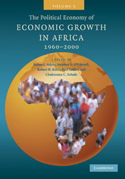 The Political Economy of Economic Growth in Africa, 1960–2000
