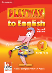 Playway to English Level 1 Cards Pack