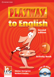 Playway to English Level 1 Activity Book with CD-ROM