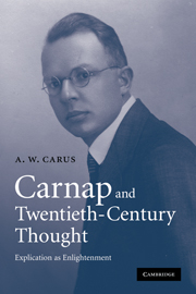 Carnap and Twentieth-Century Thought