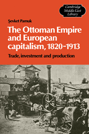 The Ottoman Empire and European Capitalism, 1820–1913