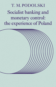 Socialist Banking and Monetary Control