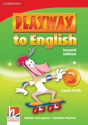 Playway to English Level 3 Flash Cards Pack