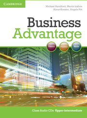 Business Advantage Upper-intermediate Audio CDs (2)