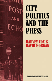 City Politics and the Press