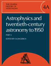 The General History of Astronomy