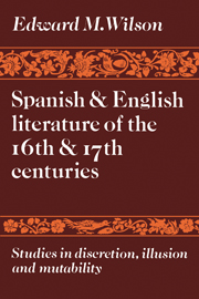 Spanish and English Literature of the 16th and 17th Centuries