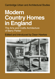 Modern Country Homes in England
