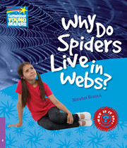 Why Do Spiders Live in Webs? Level 4