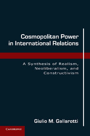 Cosmopolitan Power in International Relations
