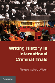 Writing History in International Criminal Trials