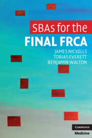 SBAs for the Final FRCA